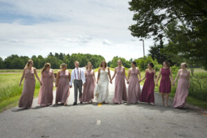 Bridal Party Wedding Photography Wisconsin