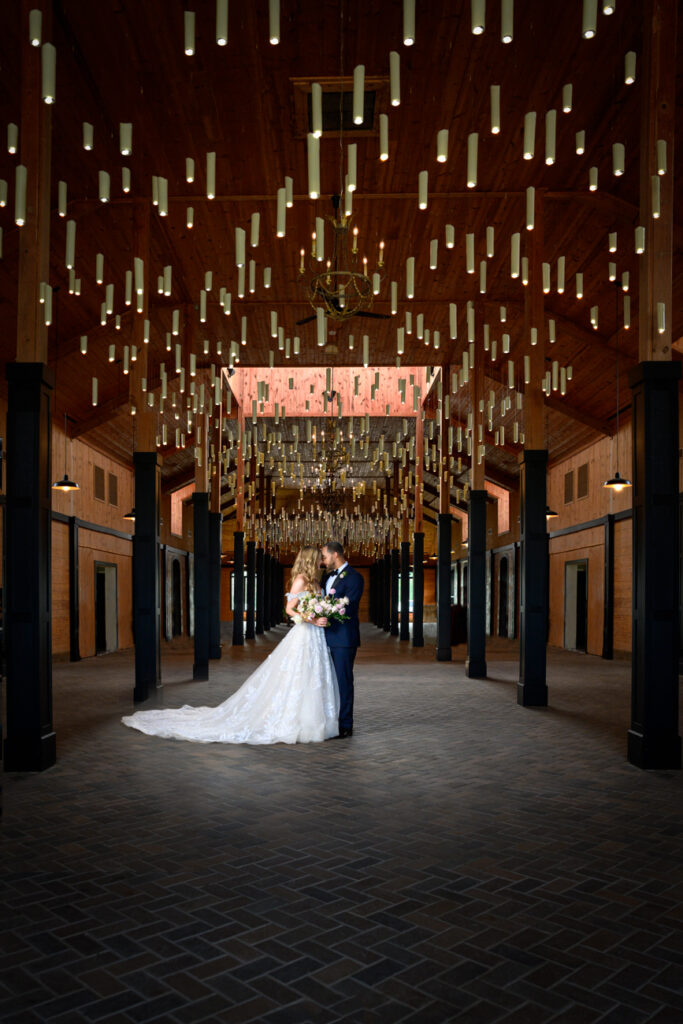 Bridal Portrait at Bourgmont Winery